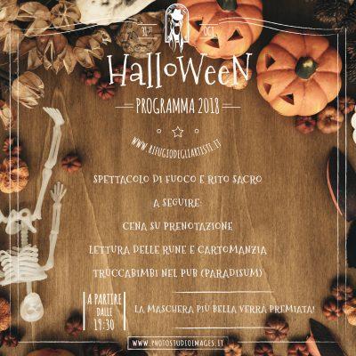 Locandina halloween rifugio sito